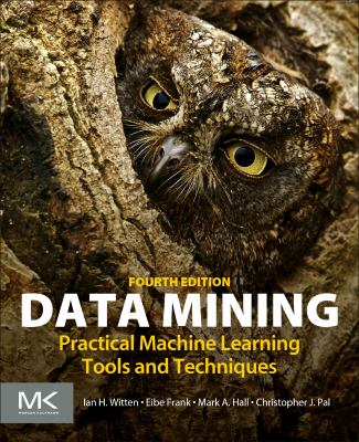 book cover: Data Mining: practical machine learning tools and techniques
