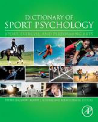 Book jacket for Dictionary of Sport Psychology