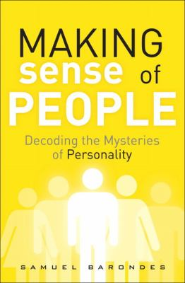 Book cover for Making sense of people.