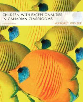 Cover Art for Children with Exceptionalities in Canadian Classrooms