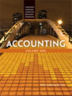 Accounting. Ninth Canadian edition. - Opens in a new window
