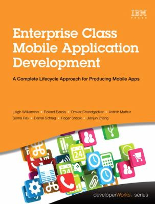 book cover: Enterprise Class Mobile Application Development