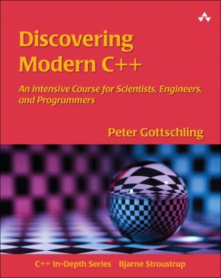 book cover: Discovering Modern C++