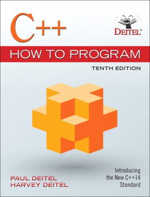 book cover: C++ How to Program