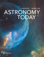 New Title:Astronomy Today by Eric Chaisson; Steve McMillan