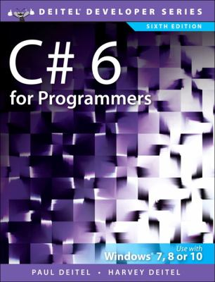 book cover: C# for Programmers