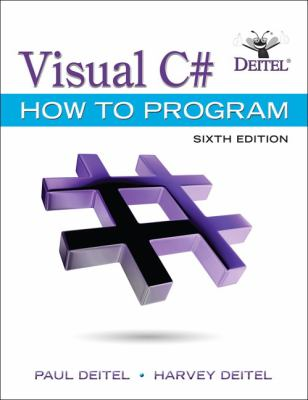 book cover: Visual C# How to Program