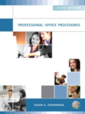Cover Art for Professional Office Procedures by Susan H. Cooperman