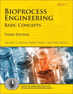 Book Cover of Bioprocess Engineering: Basic Concepts - Click to open book in a new window