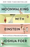 Book cover for Moonwalking With Einstein
