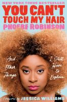 You Can't Touch My Hair book cver