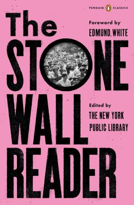 Book cover for The Stonewall reader.