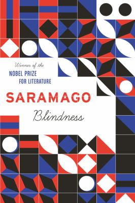 Cover of book, Blindness.