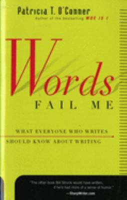 Cover for Word's Fail Me