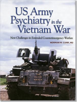 US Army Psychiatry in the Vietnam War - cover