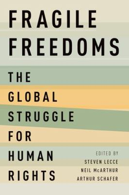 Fragile Freedoms book cover art