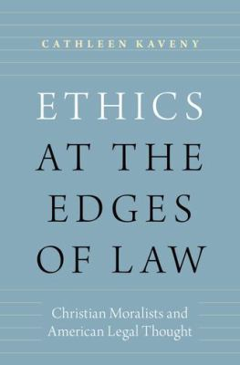 Ethics at the edges of law book cover