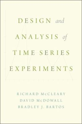 book cover: Design and Analysis of Time Series Experiments