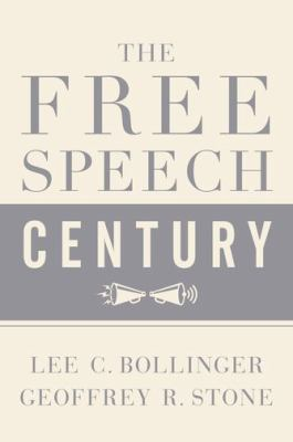 Free speech century book cover