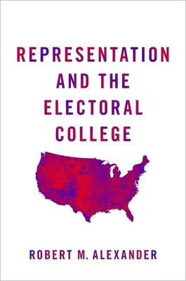 Book cover for Representation and the Electoral College.