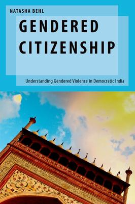 Coberta del llibre: Gendered citizenship: understanding gendered violence in democratic India