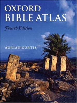 cover of Oxford Bible Atlas. 4th ed.