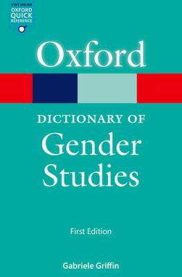 Oxford Dictionary of Gender Studies Book Cover