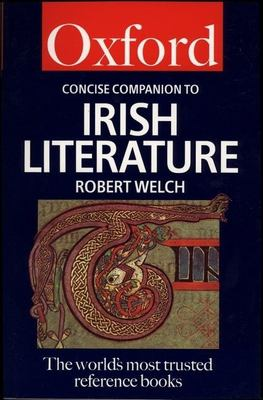 Cover art for The Concise Oxford Companion to Irish Literature