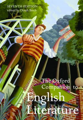 cover of The Oxford Companion to English Literature. 7th edition.