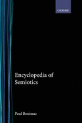 Cover Art for Encyclopedia of Semiotics