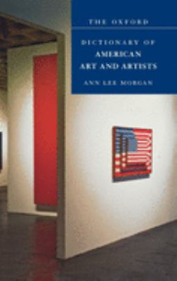 The Oxford Dictionary of American Art and Artists Cover Art