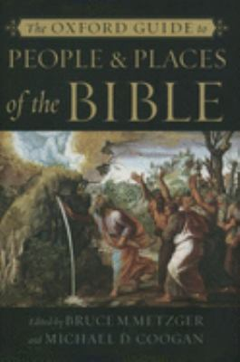 cover of The Oxford Guide to People and Places of the Bible