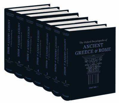 cover of Oxford Encyclopedia of Ancient Greece and Rome