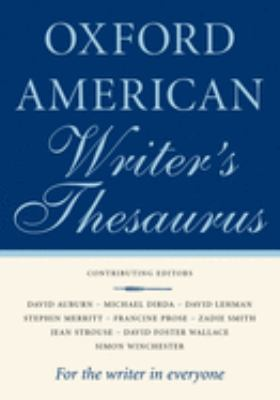 Cover for Oxford American Writer's Thesaurus