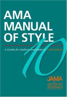 american medical association style manual book cover