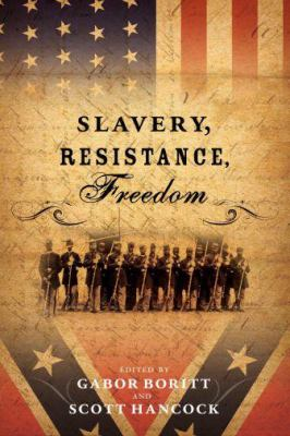 Book cover for Slavery, resistance, freedom.
