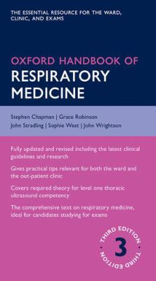 Book cover of Oxford Handbook of Respiratory Medicine - click to open in a new indow