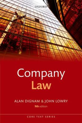 Company law Alan Dignam, John Lowry