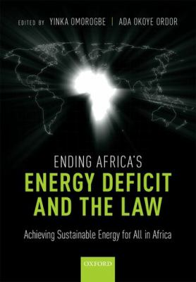 book cover: Ending Africa's Energy Deficit and the Law