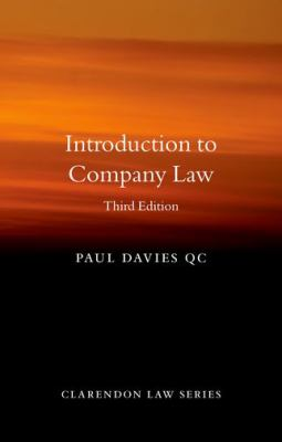 Introduction to Company Law -- Davies -- 2020