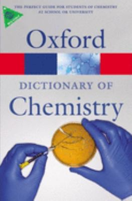 Oxford Dictionary of Chemistry, cover art.