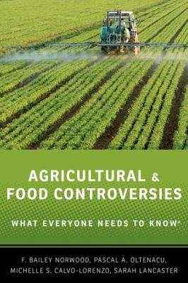 book cover for Agricultural and Food Controversies