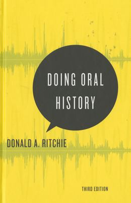 Doing Oral History by Donald A. Ritchie 2015