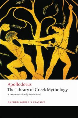 book cover for the library of Greek mythology
