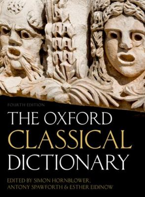 cover of The Oxford Classical Dictionary. 4th edition.