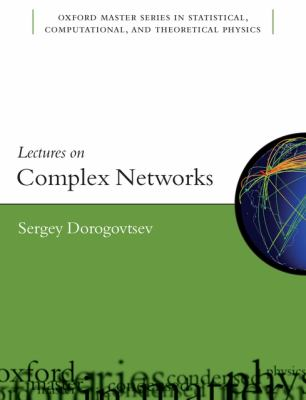 book cover:  Lectures on Complex Networks