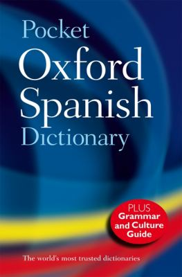 Image of book titled Pocket Oxford Spanish Dictionary