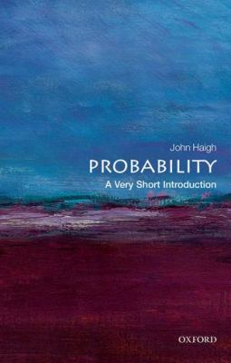 book cover: Probability: a very short introdu