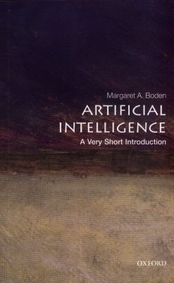book cover:Artificial Intelligence: a Very Short Introduction