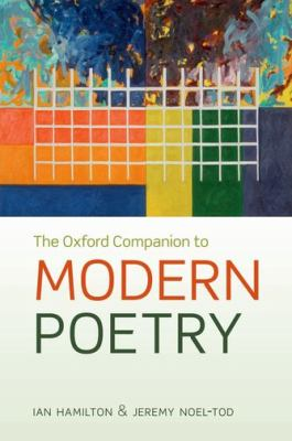 cover of The Oxford Companion to Modern Poetry. 2nd edition.